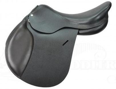 "BLACK ""ATM"" 17.5 inch Jumping Saddle"
