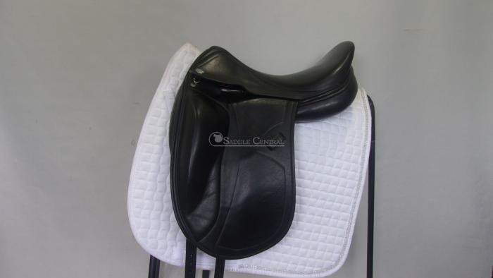 "Harry Dabbs Jaguar Mono 18"" Dressage Saddle"