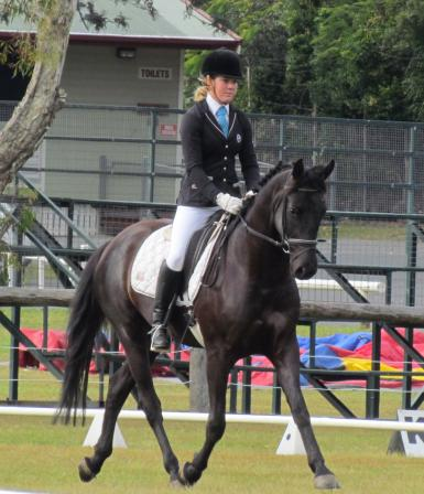 Lloyd's 1st Dressage Competition