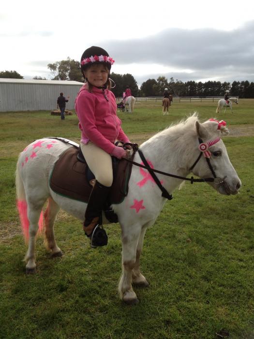 Sweetest child's pony!