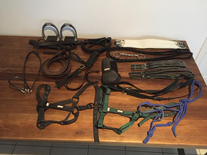 BRIDLES, SADDLE ACCESSORIES, HALTERS, BOOTS!