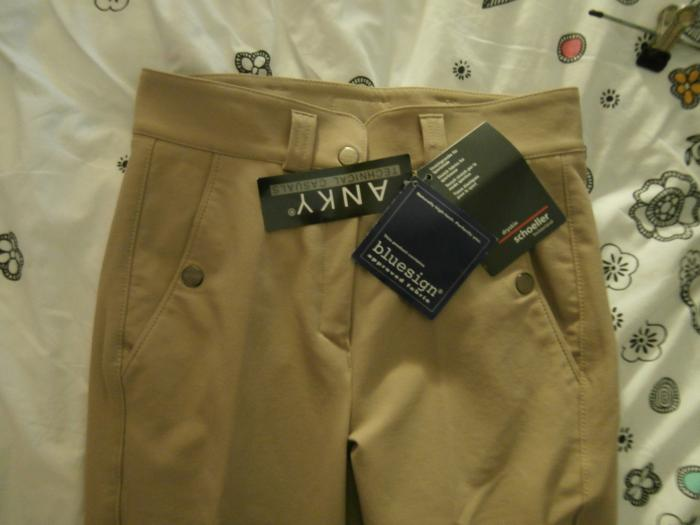 BNWT ANKY Technical Casuals Breeches, RRP $350.00!