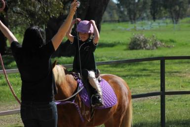 At Lake Albert Pony Club 2013.