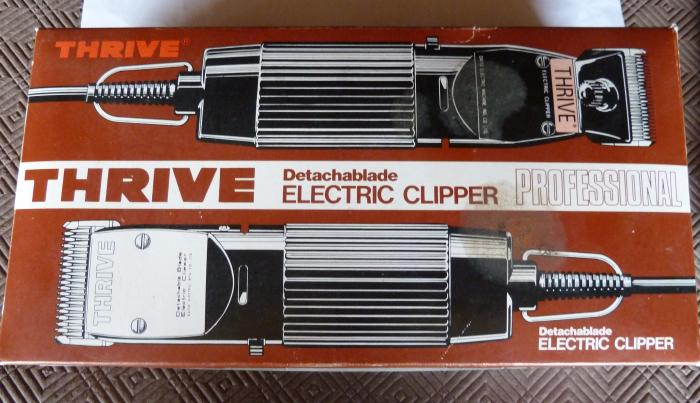 THRIVE ELECTRIC DETACHABLE CLIPPER/TRIMMER