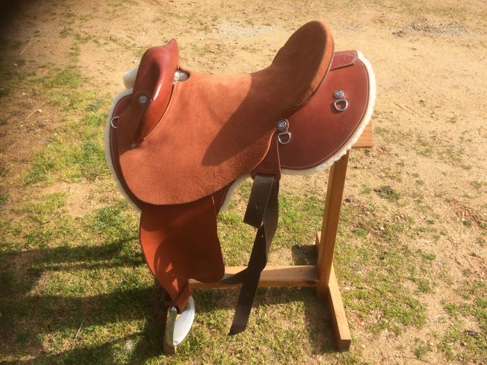 Halfbreed Saddle.