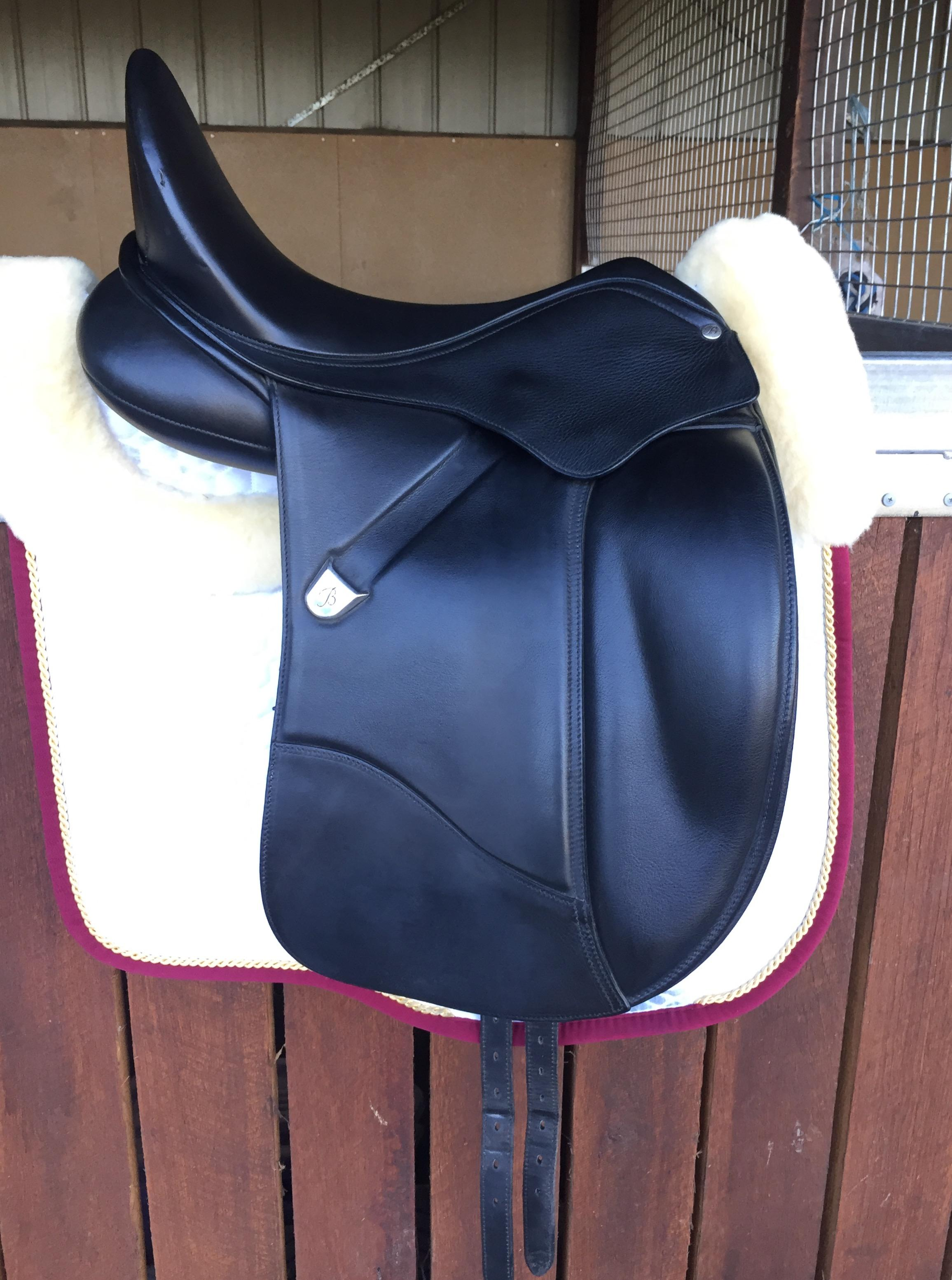 "16.5"" Bates Isabell Dressage Saddle"