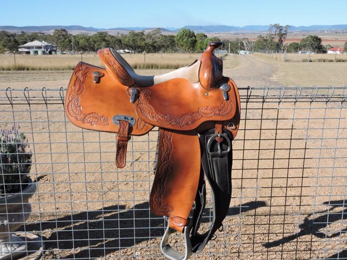 TrailsEnd Western Pleasure/Reiner show saddle