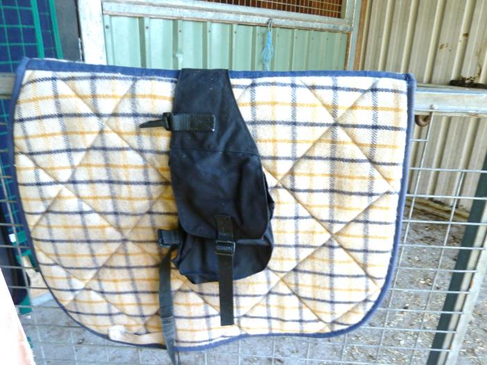 WITHER SADDLE BAG