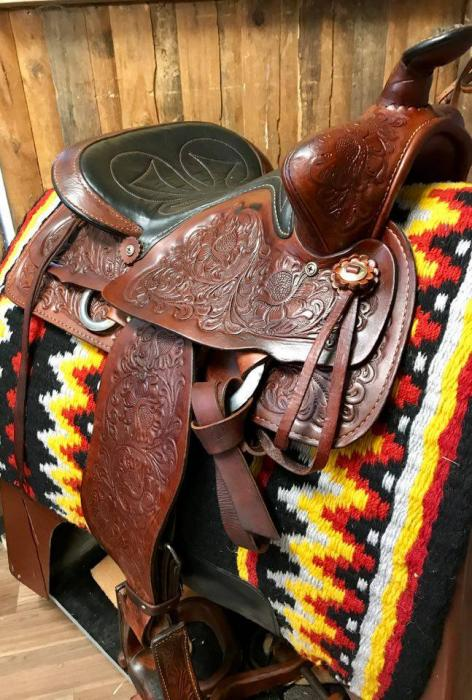 Red Ranger (imp. USA) Western Saddle