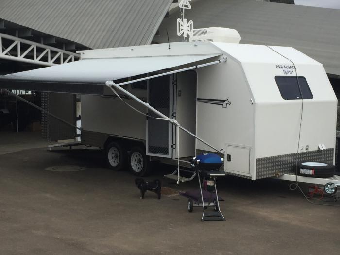 Dream Float/Sports Trailer, just like new!