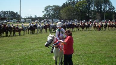 Sub-junior champions, Zone 9 Pony Club Championships 2014