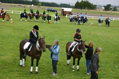 Runner up NZPC Nationals 12yrs and under championship - rider 10yrs