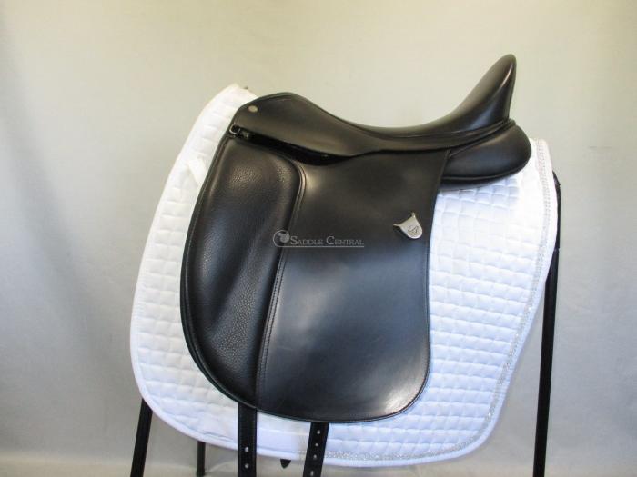 Bates Dressage Saddle with adjustable stirrup bar