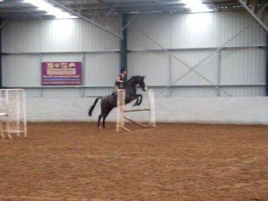 Jumping lesson Paul Williams