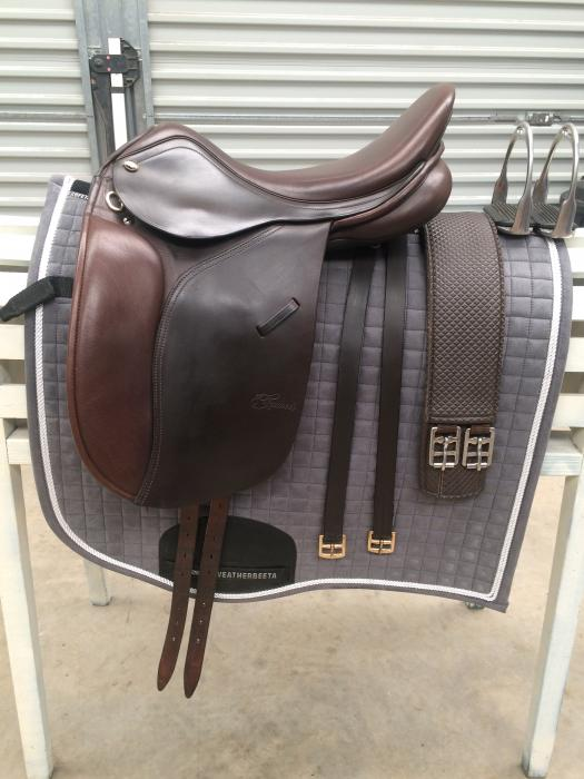 Trainers Master Pony show saddle