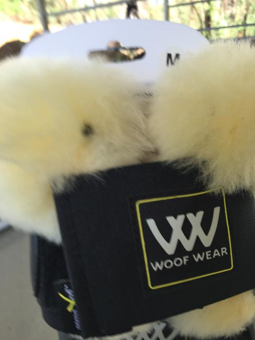 WoofWear Smart Overreach Boots with Sheepskin M