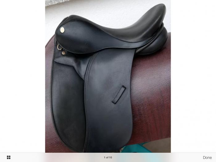 "Ambassador Saddle 15"""
