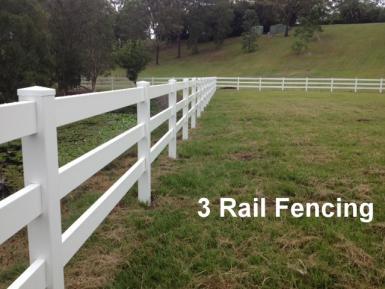 3 Rail Fencing