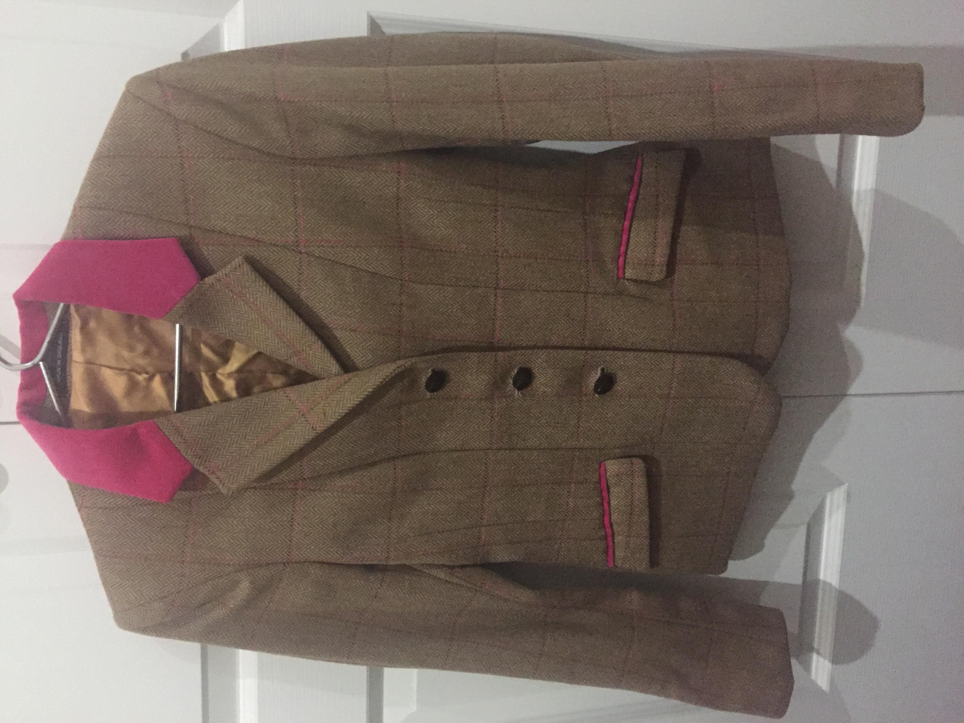 English wool show hunter jacket