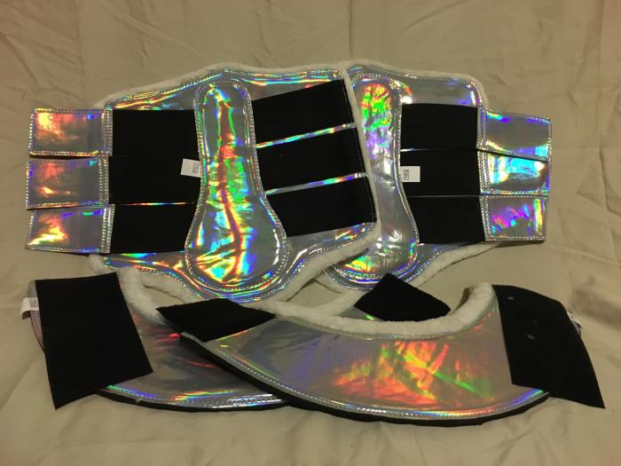 Glitter Vinyl and Holographic Boots