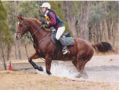 North West Equestrian Expo Coonabarabran - Eventing - First Ever Cross Country/Water Jump