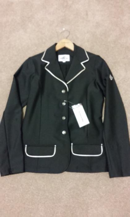 Black QJ Riding Jacket - Size 14