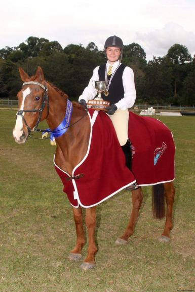 2015 PCAQ State Horse Trials Introductory Champion