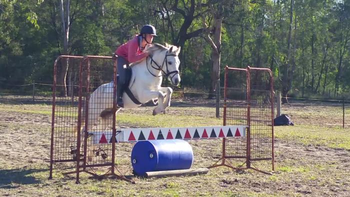 Gun jumping pony