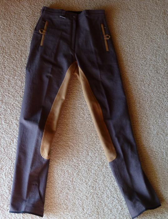 Dublin Suede Full Seat Breeches