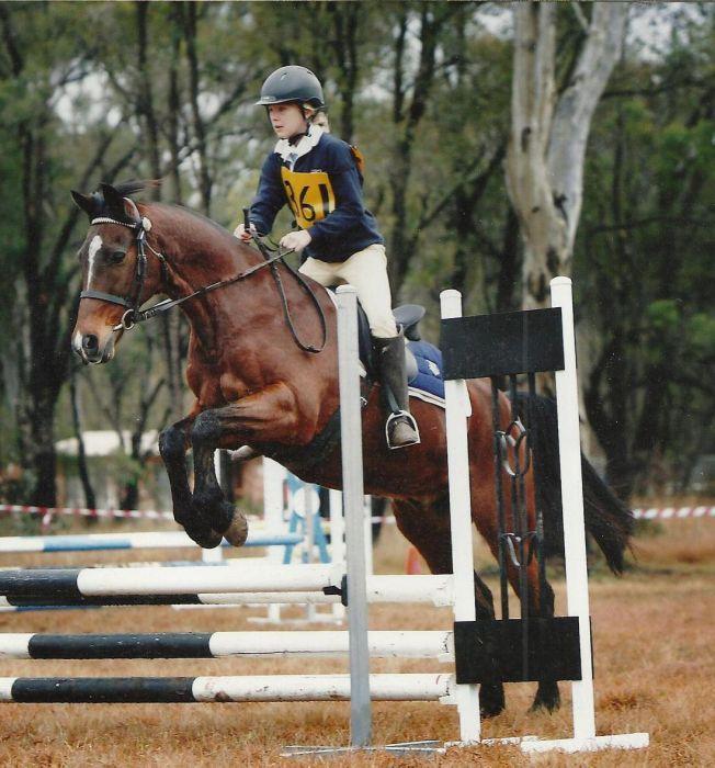 Pony club C Grade eventer