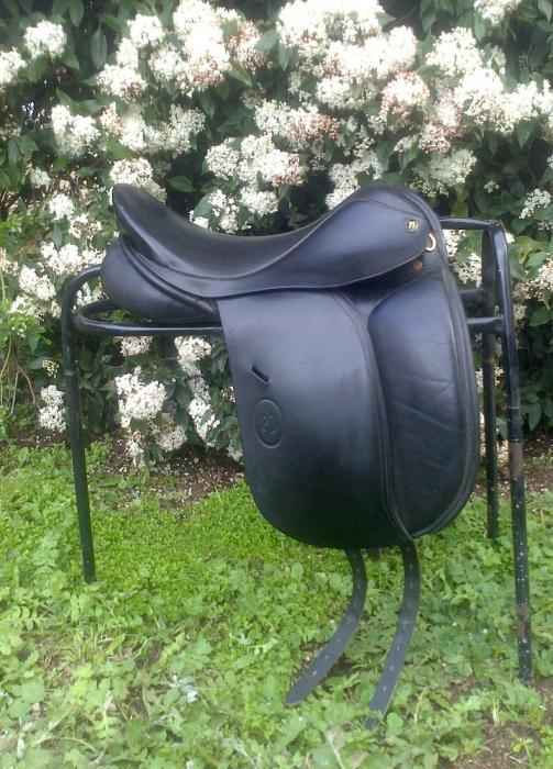 "Paul Jones (PJ) 16.5"" Dressage/Show Saddle"