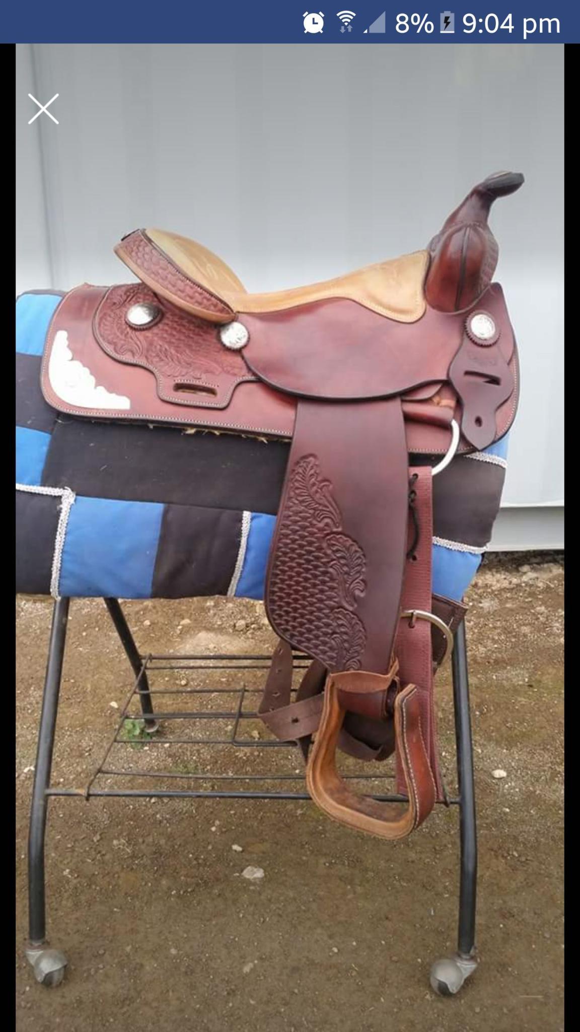 Denis Smith western saddle