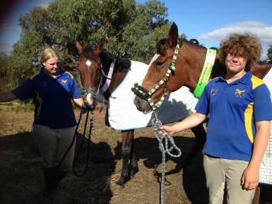 Horse trials, 3rd.