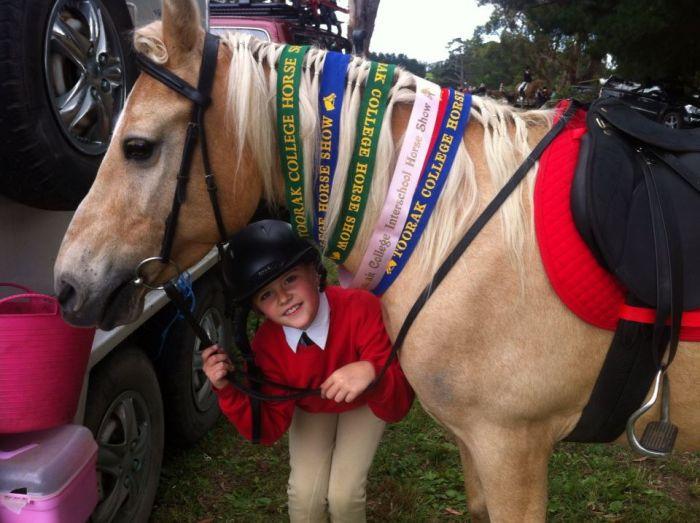Beginner's Lead Line Palomino Pony