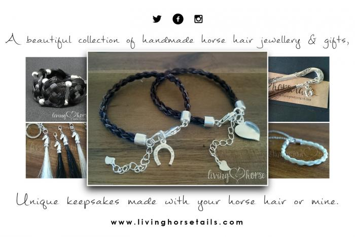 Horse Hair Bracelets • Keepsakes • Gifts +more