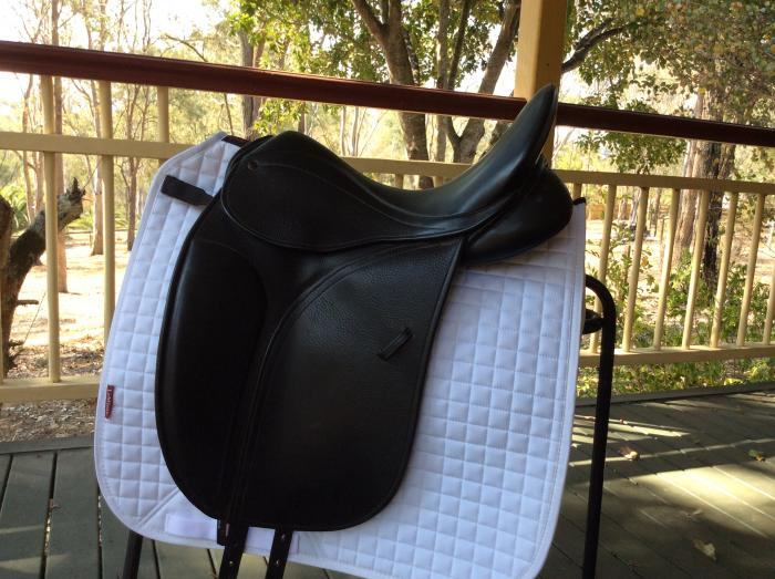 County Perfection Dressage Saddle Fully Mounted