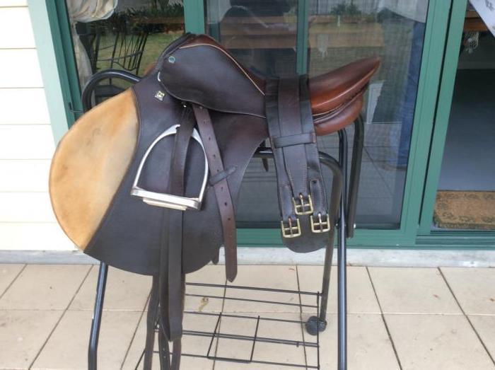 "Stubben Siegfried 17"" Saddle"