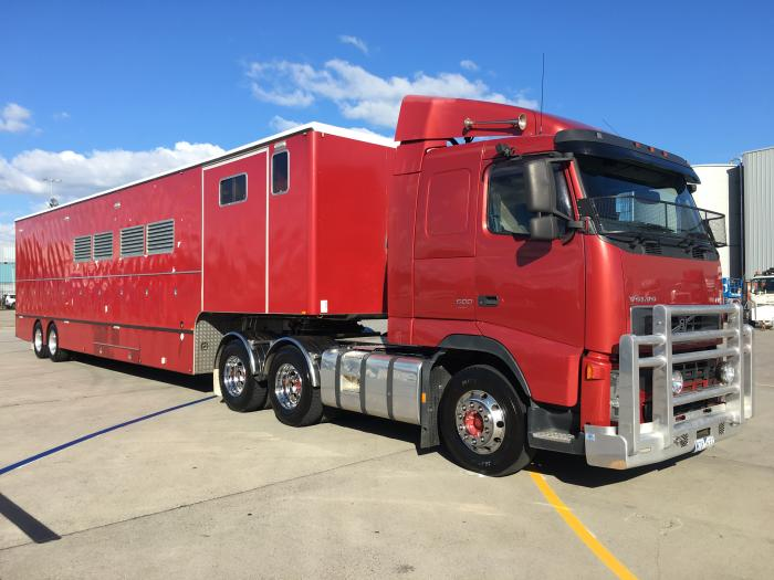 Carlton Clydesdale Prime Mover and Trailer