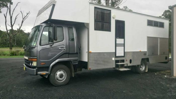 Newly Converted 3-4 Horse Truck with Living