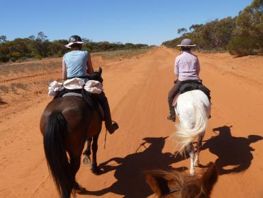 600km ride in outback NSW