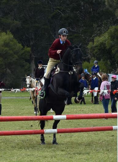 2018 C Grade Equitation Champion Zone 28