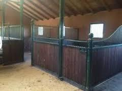 Antique Musgrave Cast Iron Horse Stables