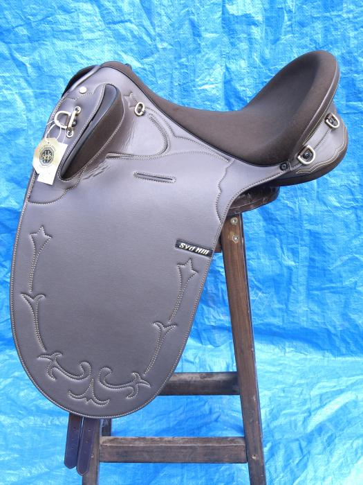 Syd Hill Synthetic Stock Saddles