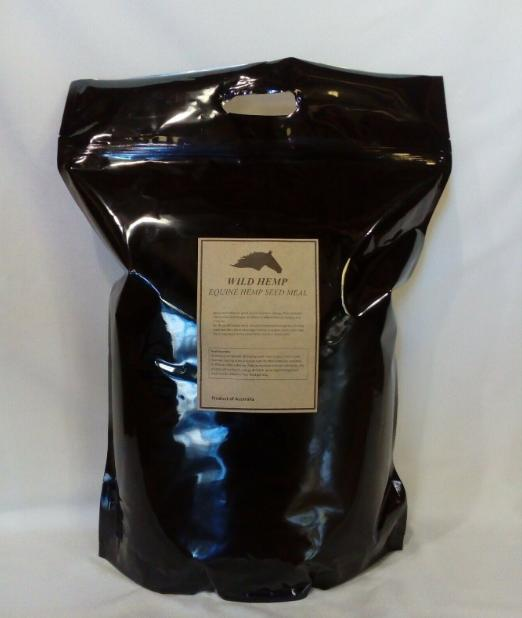 EQUINE HEMP SEED MEAL 4.8kg AUSTRALIAN MADE & GROW