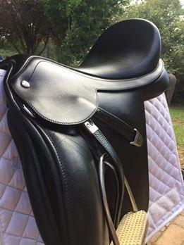 "Bates Pony All Purpose 16"" Saddle"