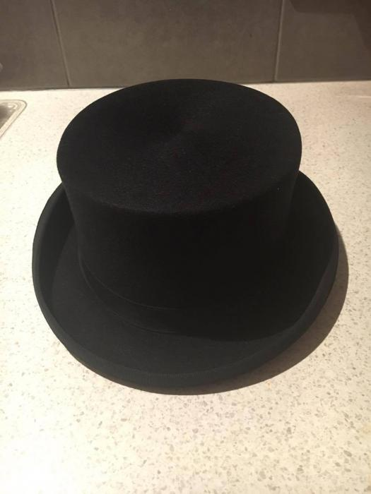 Horka Black Top Hat