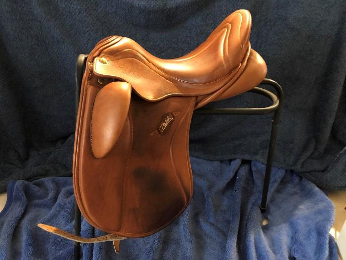 Zaldi SanJorge Tan Dressage Saddle