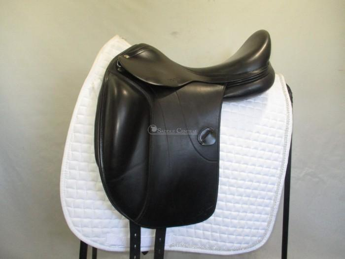 Amerigo Vega Monoflap Dressage Saddle 17""