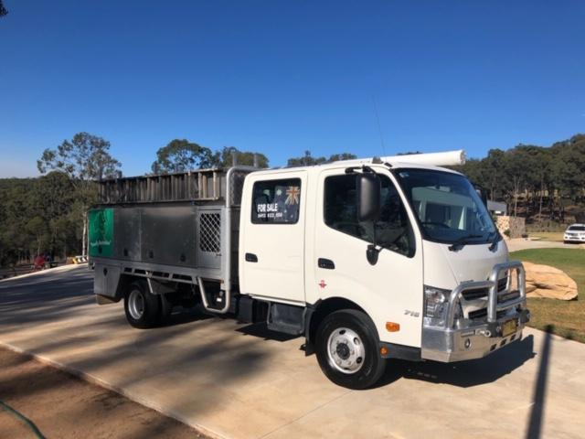 Hino Dual Cab Towing Vehicle