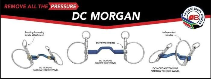 Bomber Bit DC Dressage Happy Tongue Swivel 130mm
